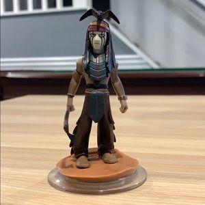 Disney Infinity Game Figure Lone Ranger - Tonto